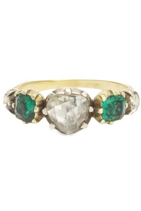 Vintage Georgian Engagement Ring from Erica Weiner