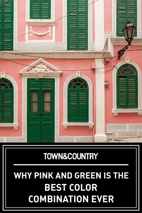 Pink And Green Color Combination