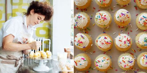 Cupcake, Food, Cuisine, Sweetness, Cake, Dessert, Ingredient, Baked goods, Cake decorating, Cake decorating supply,
