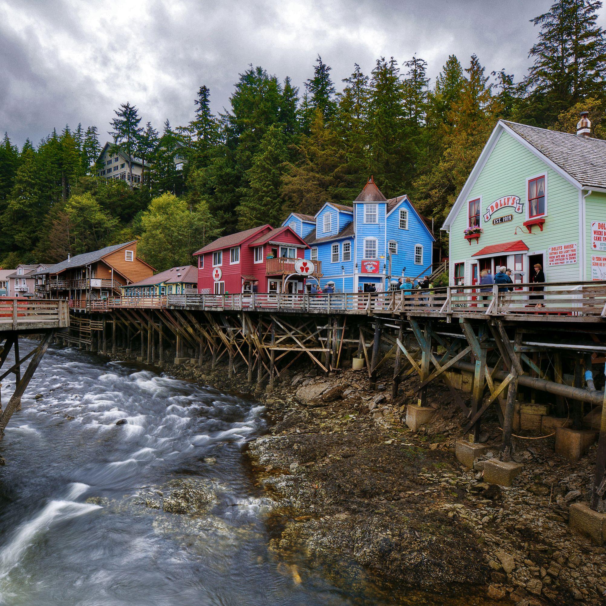 creek street ketchikan alaska
