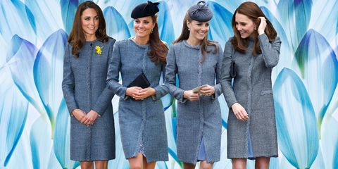 Here 78 times Kate Middleton recycled one of her outfits to create something new.