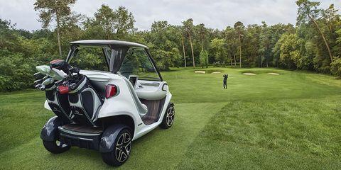 Mercedes-Benz Golf Cart