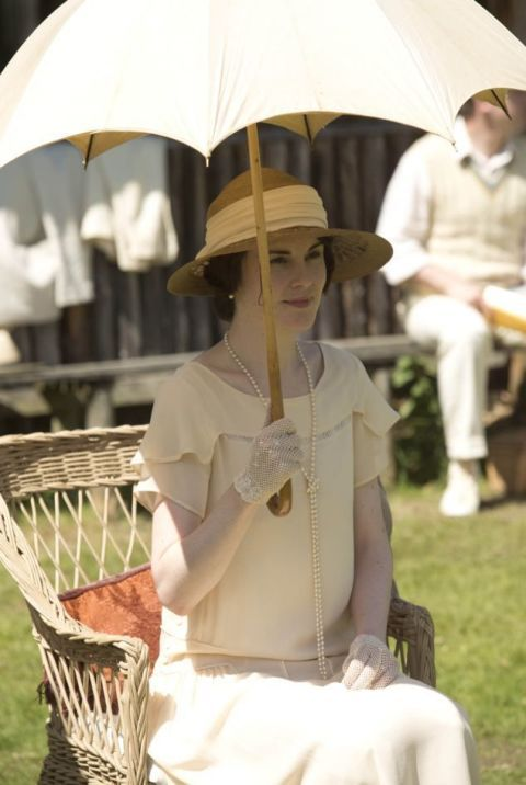 Lady Mary Crawley in 'Downton Abbey'