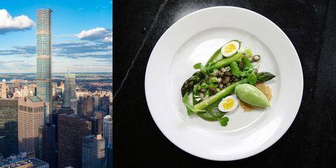Food, Ingredient, Dishware, Tower block, Produce, Skyscraper, Vegetable, Serveware, Cityscape, Plate,