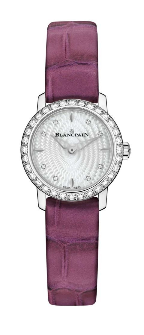 Product, Purple, Lavender, Font, Fashion, Watch, Metal, Watch accessory, Magenta, Strap,