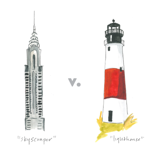 Line, Beacon, Tower, Lighthouse, Drawing, Cylinder,