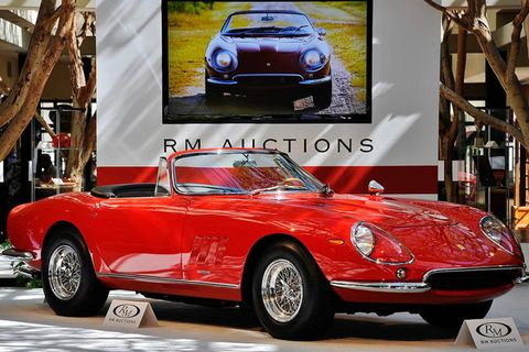 "<p><strong>Sold for</strong>: $27.5 million in 2013</p><p>Until the sale of the 250 GTO Berlinetta, this '67 275 GTB soft-top held the record for <a href=""http://www.bloomberg.com/news/articles/2013-08-18/ferrari-nart-spyder-sets-27-5-million-auction-record"" target=""_blank"">most expensive sale</a> of a non-race car in the United States. Anyone who puts down eight figures for an automobile should be able to dispense related trivia, like an explanation for the 275 GTB's seemingly unintelligible suffix (which stands for ""North American Racing Team"").</p>"
