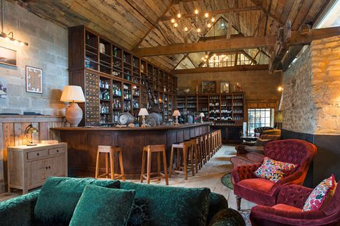 "<p>Although outside of the city, <a href=""https://www.sohofarmhouse.com/"" target=""_blank"">Soho Farmhouse</a> in Oxfordshire is one of the UK's most notable members clubs.  It's rural setting makes the property quite unique–and keeps the atmosphere that much more exclusive. Like the brand's other properties across the city, Soho House members can access the Farm House and enjoy its amazing spa, restaurant and retail offerings.  </p><p><br></p><p><span></span><em>Soho Farmhouse; Great Tew, Chipping Norton, OX7 4JS, </em><em>+44 (0)1608 691 000.</em></p><footer><a class=""squiggle-dark"" href=""https://www.sohofarmhouse.com/contact""></a></footer>"