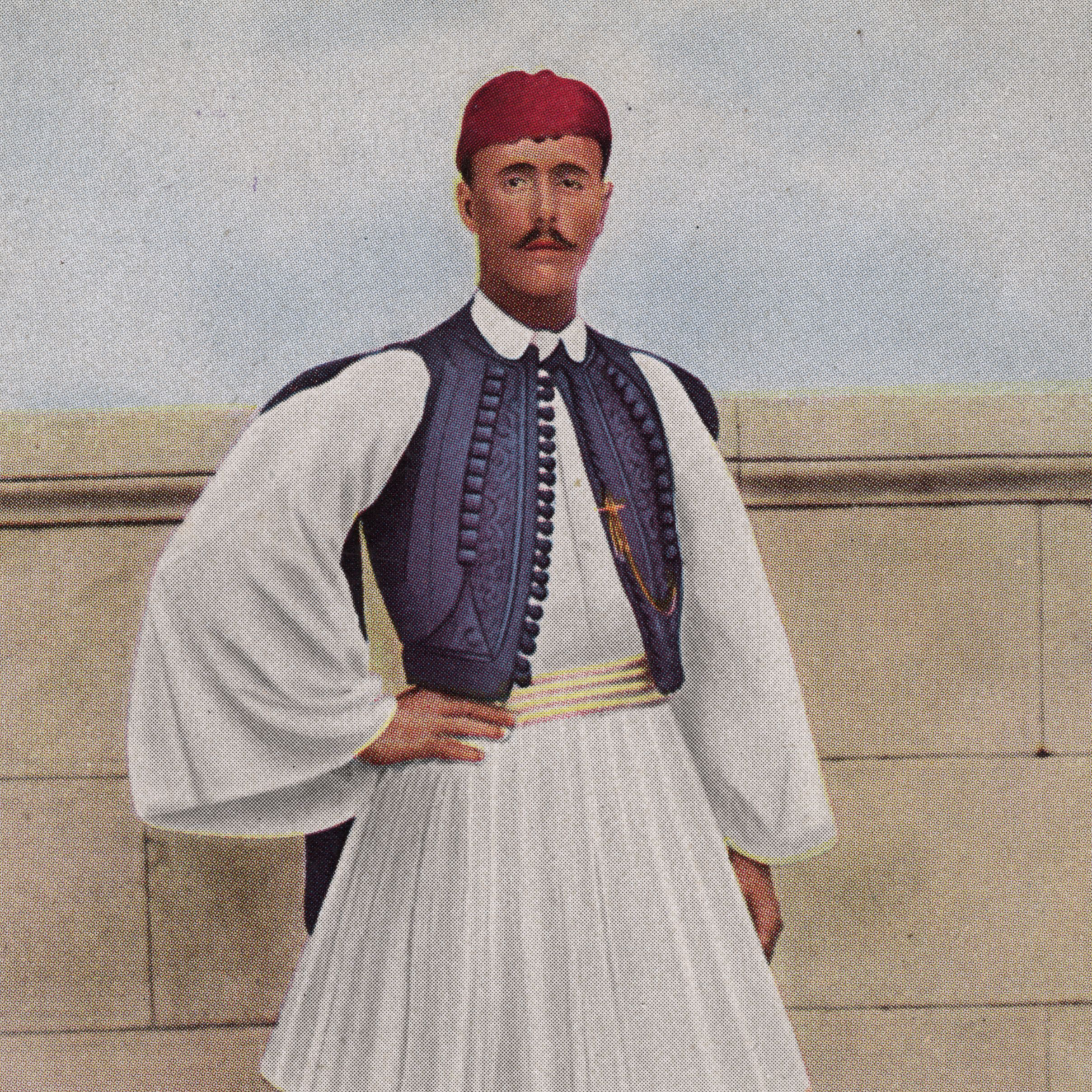 """<p>Greek shepherd Spyridon Louis is the winner of the 40 km marathon at the first modern Olympics games held in Athens in 1986. Women are not <a href=""""http://visforvintage.net/2012/08/03/olympics-sportswear-a-complete-history/"""" target=""""_blank"""">formally invited</a> to the event, though they're not explicitly barred. </p>"""