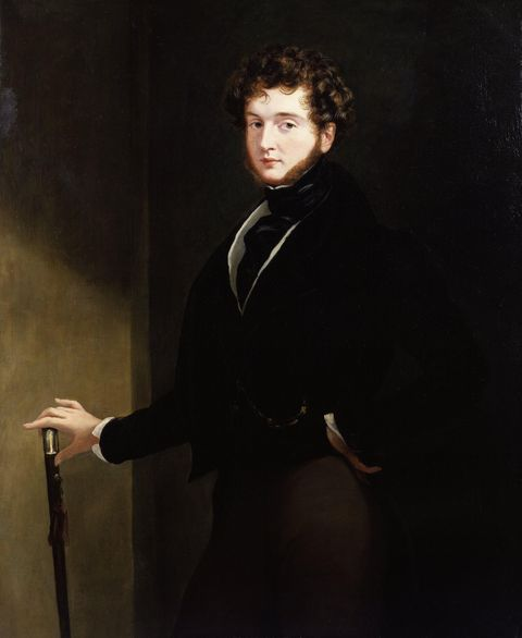 <p><strong>Claim to Fame: </strong>Not much. He was an amateur artist and dandy.</p><p><strong>Signature Style: </strong>Silk cravats, walking sticks, black suits, waistcoats, and tight pants. </p><p><strong>Why We Love Him:</strong> <em>The New Yorker </em>magazine's mascot <a href=