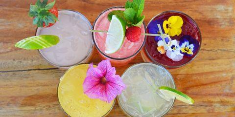 Wood, Leaf, Petal, Flower, Dishware, Serveware, Flowering plant, Garnish, Hardwood, Cocktail garnish,