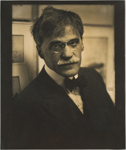 <p><strong>Claim to Fame:</strong> One of the great photographers of the 20<sup>th</sup> century.</p><p><strong>Signature Style: </strong>A busy moustache, wire glasses, and inky black jackets. </p><p><strong>Why We Love Him:</strong> He fought to ensure that photography was considered an accepted art form, and helped support modern artists. </p>