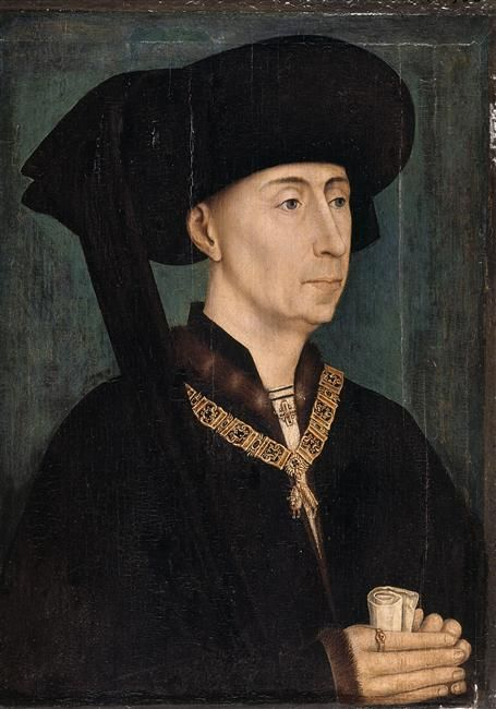 <p><strong>Claim to Fame: </strong>He was the Duke of Burgundy.<br></p><p><strong>Signature Style: </strong>Bold filigreed necklaces and black fabric hats called chaperons, which were all the rage in 15<sup>th</sup> century Europe. </p><p><strong>Why We Love Him: </strong>He was a prolific patron of the arts and supported painters like Jan van Eyck and Rogier van der Weyden.</p>