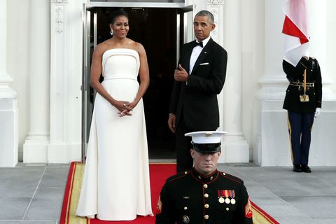 Dress, Trousers, Military uniform, Shoulder, Military person, Outerwear, Standing, Uniform, White, Formal wear,