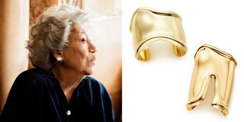 ear, earrings, jewellery, style, body piercing, fashion, beauty, beige, tan, leather,