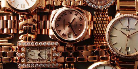 Brown, Glass, Clock, Still life photography, Watch, Home accessories, Metal, Grey, Machine, Tan,