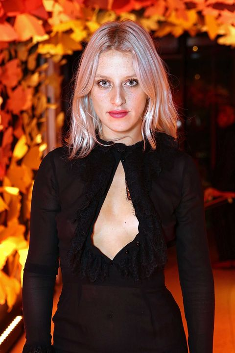 "<p>THE SKINNY The niece of late fashion icon Isabella Blow is a writer, stylist, and model. </p><p>NATURAL HABITAT Backstage, chatting with designers she's known since she was little. </p><p>BRAGGING RIGHTS Her London flat is dotted with ""Aunt Izzy's"" heirlooms. </p>"