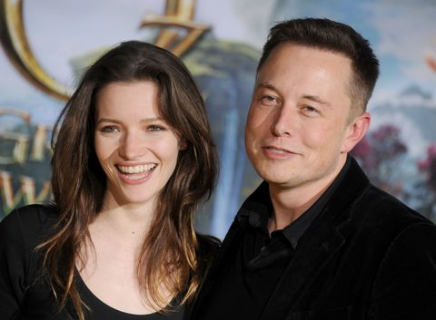 Elon Musk And Talulah Riley
