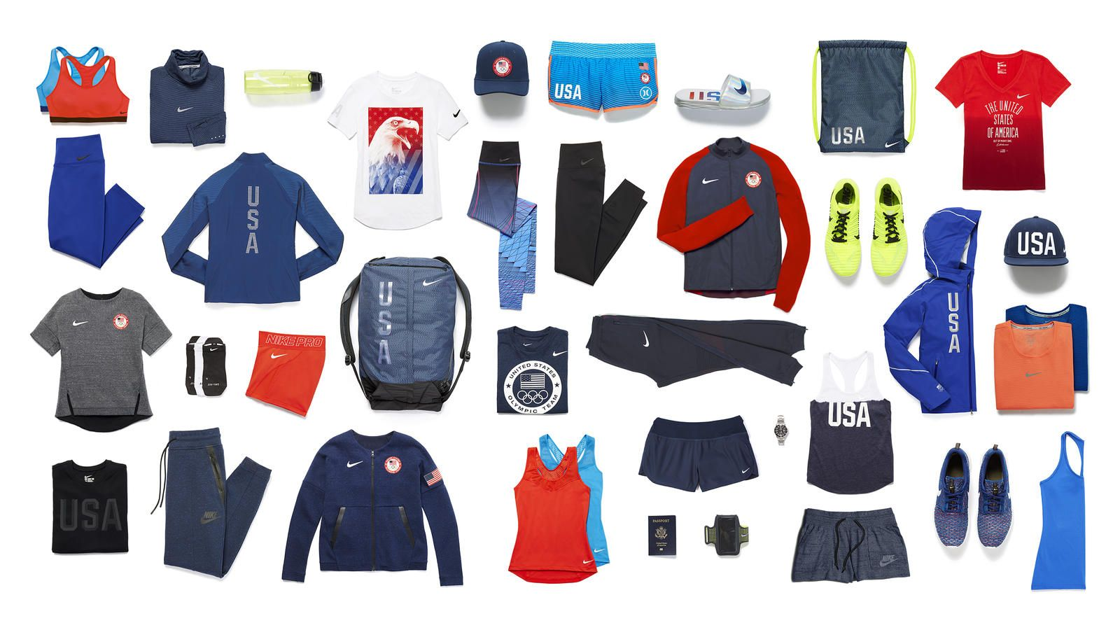 Rio Olympics Swag Bag - Top Items From Summer 2016 Olympics Swag Bag d9b0bf2672afb