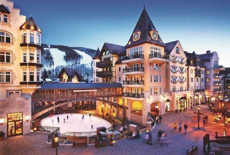 Vail snowboarding resort hotels