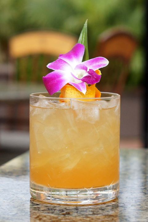 Mai tai, Drink, Rum swizzle, Non-alcoholic beverage, Cocktail, Alcoholic beverage, Fuzzy navel, Cocktail garnish, Whiskey sour, Sour,