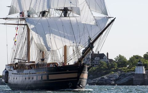 Oliver Hazard Perry Tall Ship