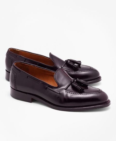 0ba93e3387c04 Brooks Brothers and Alden made loafers in cordovan, a leather known for its  durability.