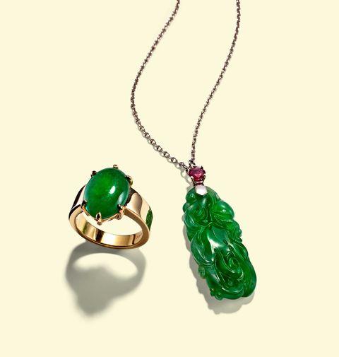 Green, Jewellery, Fashion accessory, Earrings, Amber, Natural material, Aqua, Body jewelry, Teal, Maroon,