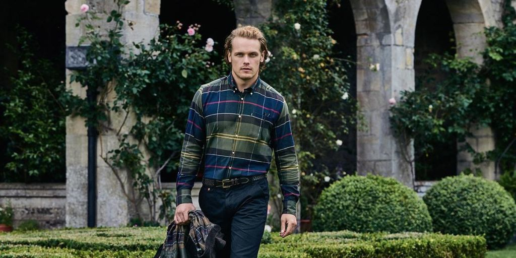 0d522bfd414 Barbour Releases New Photos of Sam Heughan s Campaign