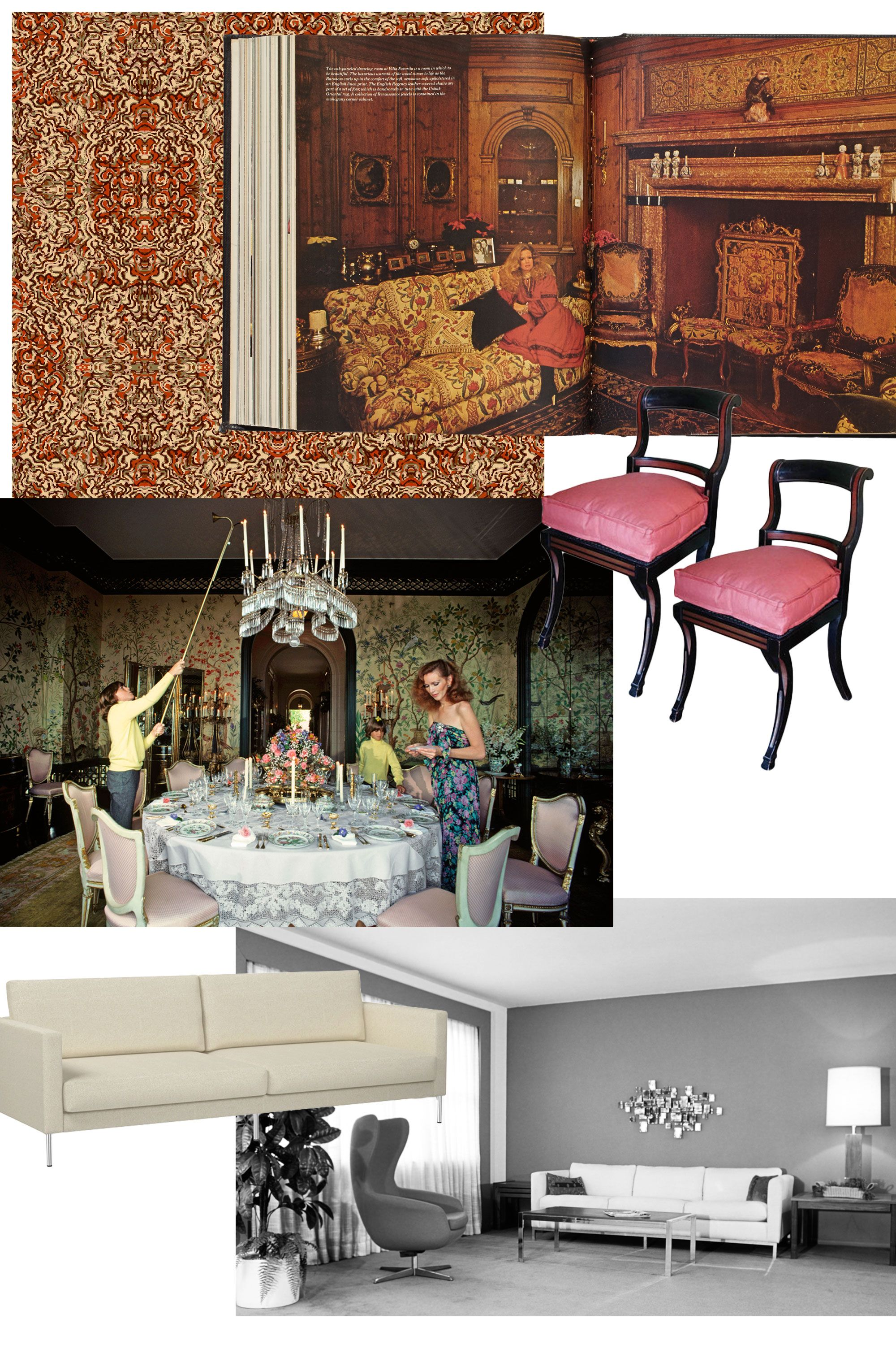 Prime Style Through The Decades Home Decor From The 20Th Century Machost Co Dining Chair Design Ideas Machostcouk