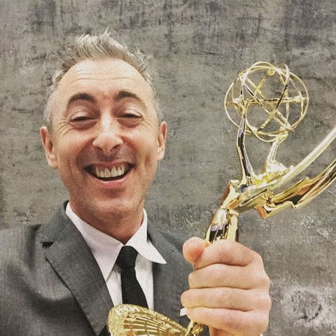 "<p>""I just picked an Emmy up and pretended that I'd won… I actually think five-time Emmy nominee sounds better than Emmy winner.""</p><p><span id=""selection-marker-1"" class=""redactor-selection-marker"" data-verified=""redactor"" data-redactor-tag=""span"" data-redactor-class=""redactor-selection-marker""></span></p>"