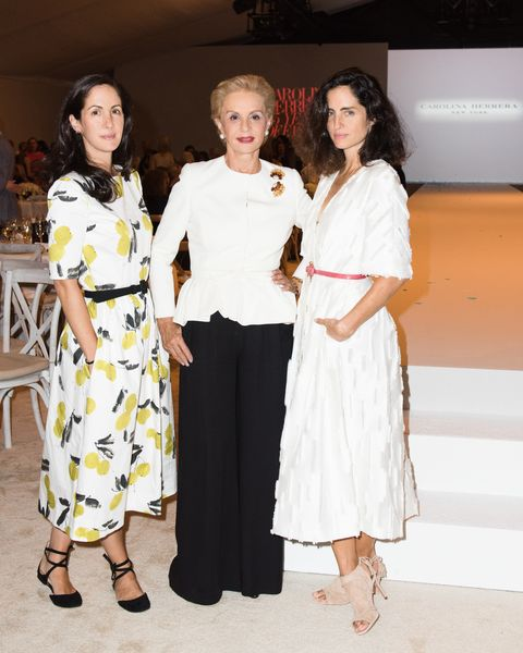 Carolina Herrera Brought Her Daughters To Dallas To Accept An Award