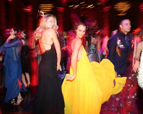 Dress, Magenta, Pink, Costume, Fashion, Party, Costume accessory, Gown, Costume design, Haute couture,