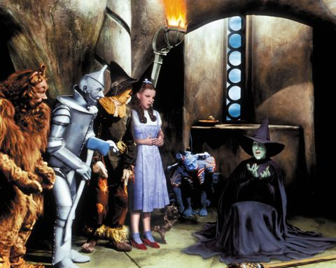 "<p>The musical that reminded us ""we're not in Kansas anymore,"" transported us to the land of Oz filled with  flying monkeys and witches and a wizard. Judy Garland plays a wayward girl who's just trying to find her way back home, accompanied by a medley of characters like the Lion, the Scarecrow, and the Tin Man.  </p>"