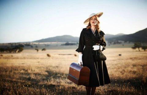 Hat, Plain, Bag, People in nature, Sun hat, Fashion accessory, Travel, Vintage clothing, Grassland, Street fashion,
