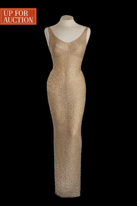 Up For Auction: The Dress Marilyn Monroe Wore for JFK