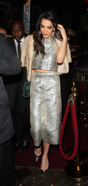 d0cb3553996b Amal Clooney Style - Photos of Amal Alamuddin's Best Fashion Looks