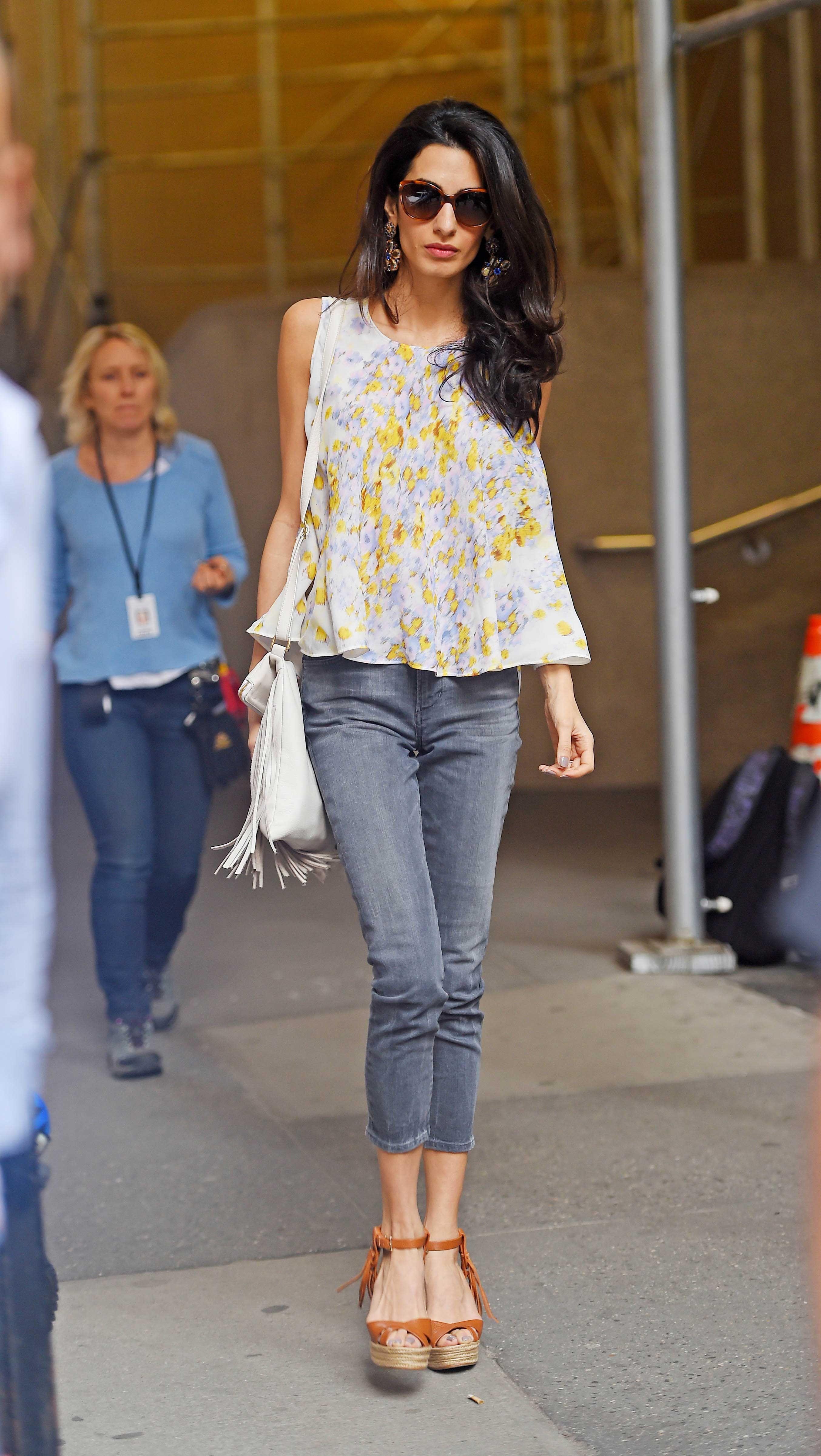 Amal Clooney Style - Photos of Amal Alamuddin's Best Fashion Looks