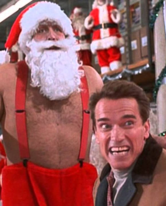 "Watch Now Jingle All the Way Memorable Quote : ""You guys are nothing but a bunch of sleazy con men in red suits."" - Howard Langston Keywords : Turbo Man, Christmas Eve, Arnold Schwarzenegger, reindeer, Sinbad"