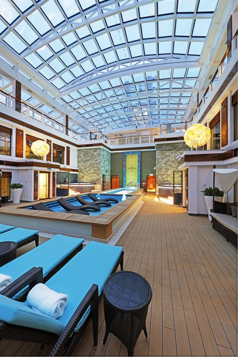 "<p>Norwegian's the Haven, its ship-within-a-ship concept (think boutique hotel tucked into Caesars Palace), is the best designed of them all. There's variety across ship classes—the peak is on the line's newest, the Escape—but invariably there's a private restaurant, a courtyard with a pool and sundeck, and a spa—all reserved exclusively for Haven residents (who can also at any time sample what the rest of the ship has to offer, including more than 20 restaurants). <em data-redactor-tag=""em""><strong data-redactor-tag=""strong""><a href=""http://ncl.com"" target=""_blank"">ncl.com</a></strong></em></p><p><em data-redactor-tag=""em"">For more on what we mean by ""Mainstream Luxury,"" <a href=""http://www.townandcountrymag.com/leisure/travel-guide/news/a8114/cruise-awards-methodology"" target=""_blank"">read this</a>.</em></p>"