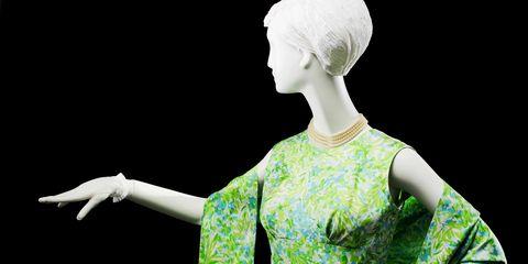 Style, Art, Sculpture, Day dress, Costume design, One-piece garment,