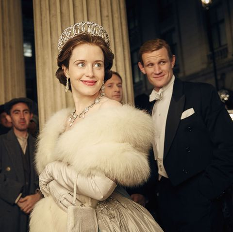 Claire Foy Was Photographed Filming As Queen Elizabeth In The Crown Season 4