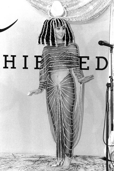 <p>1988, Cher as Cleopatra</p>