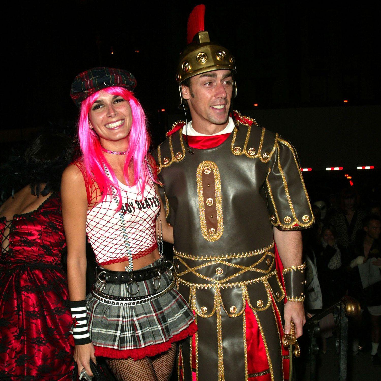 <p>2002, Angie Harmon as Gwen Stefani and Jason Sehorn as a gladiator</p>