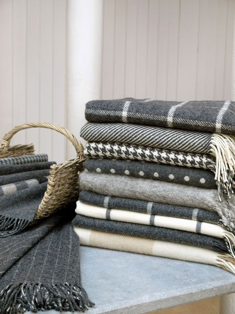 "<p>Founded in 1892, there's a reason that Foxford is one of the last working mills in Ireland — their sumptuous blankets more than stand the test of time, and are the perfect pairing for a chilly Irish night. The mill uses traditional techniques passed down through generations to produce blankets of all kinds, from sturdy wools to luxurious mohairs, in more contemporary styles and traditional Irish tartans.<br></p><p><em data-redactor-tag=""em"" data-verified=""redactor"">Foxford, </em><a href=""http://foxfordwoollenmills.com/"" target=""_blank""><em data-redactor-tag=""em"" data-verified=""redactor"">foxfordwoollenmills.com</em></a></p>"