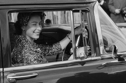 queen elizabeth car