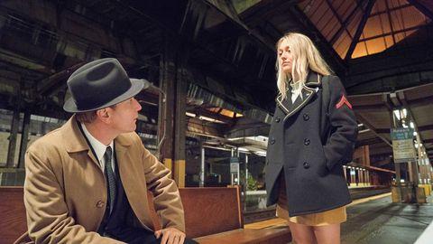Hat, Coat, Sleeve, Jacket, Collar, Dress shirt, Outerwear, Style, Blazer, Sun hat,