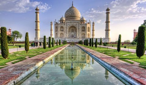 Nature, Daytime, Architecture, Reflection, Tourism, Wonders of the world, Dome, Landmark, Monument, Dome,