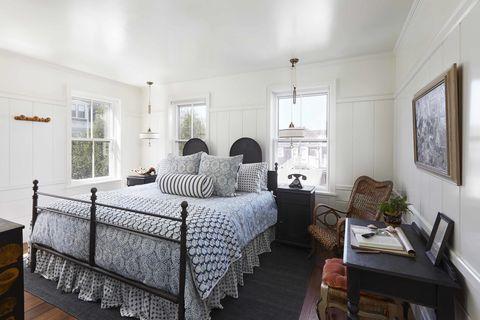 Bedroom, Furniture, Room, Bed, Property, Interior design, Bed frame, Bed sheet, Building, Bedding,