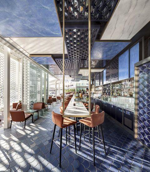 Europe Bar / Blue Wave (Barcelona, Spain) / El Equipo Creativo